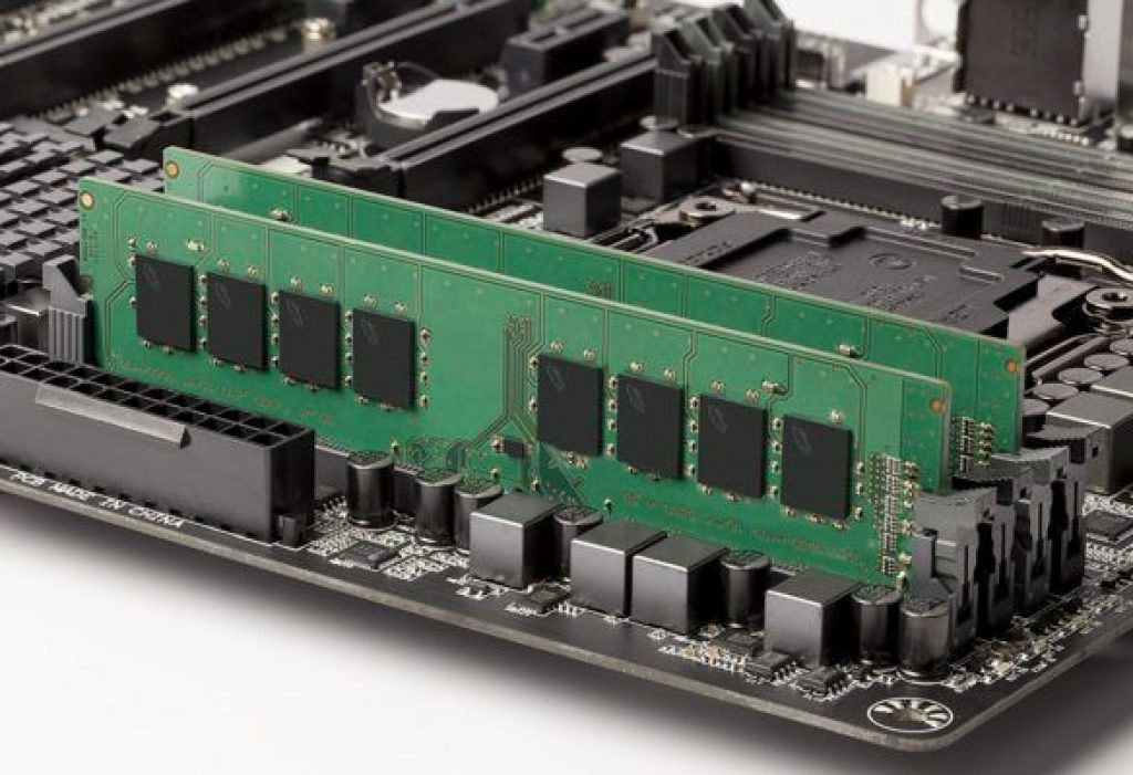 Kit Value Ram Desktop installato su Mainboard
